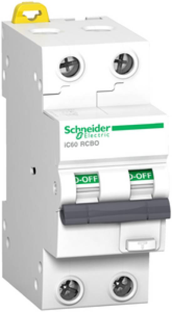 Schneider jordfeilautomat 2-pol 10A C 30ma