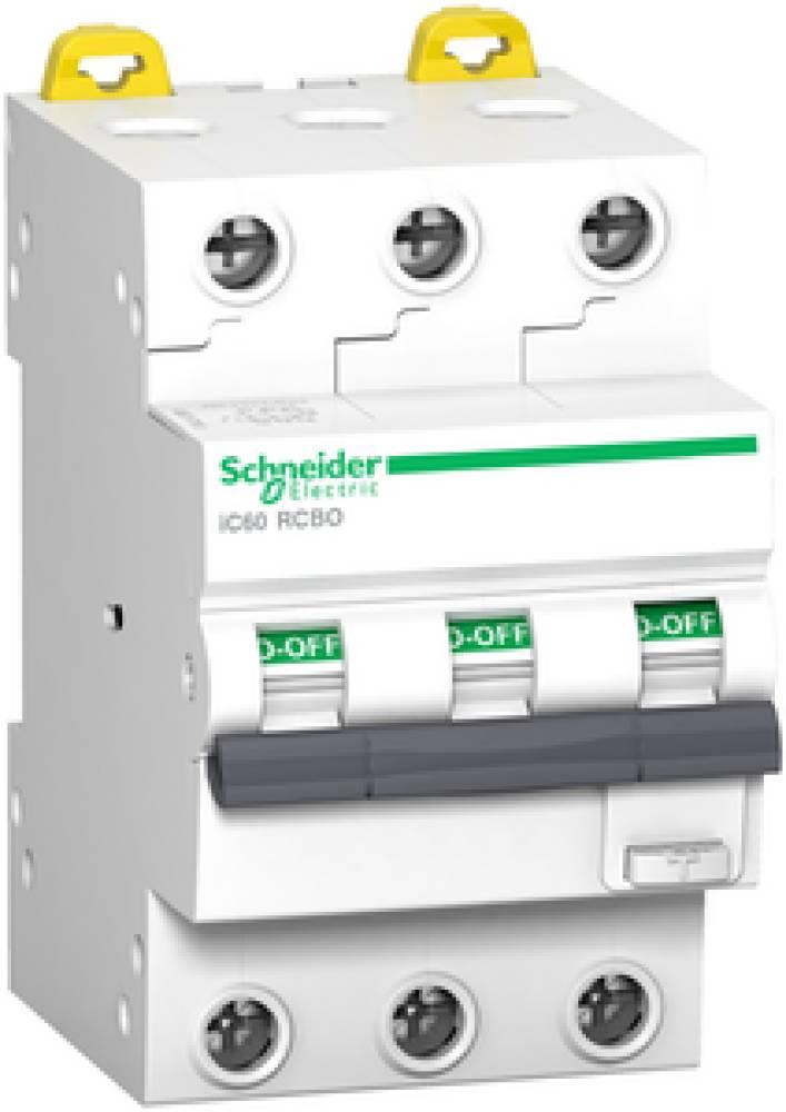 Schneider jordfeilautomat 3-pol 20A C 30ma