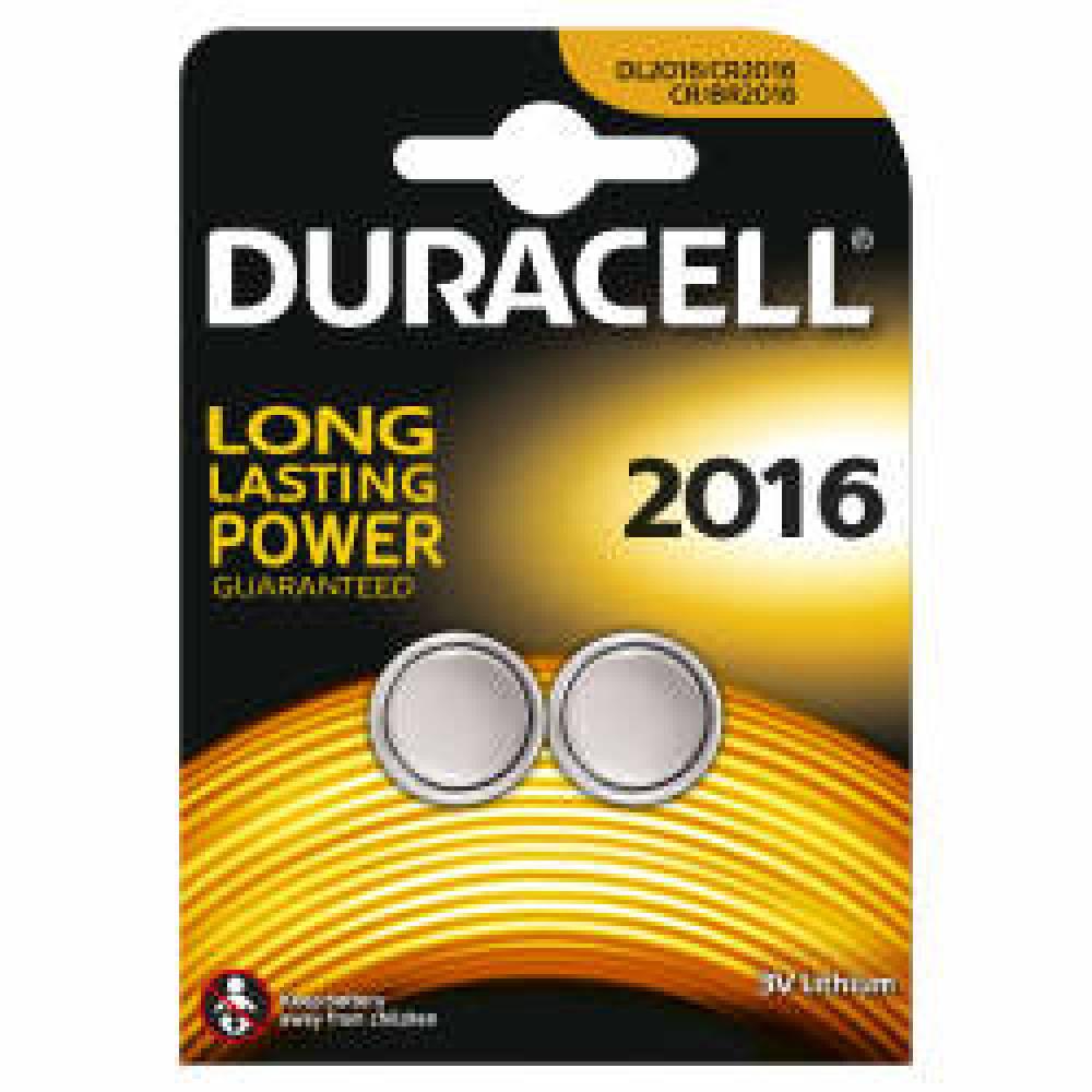 Duracell CR2016 2pk