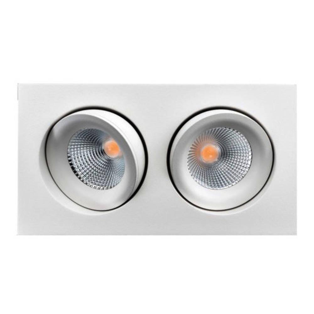 SG Junistar Lux Dobbel Sort/hvit/børstet stål