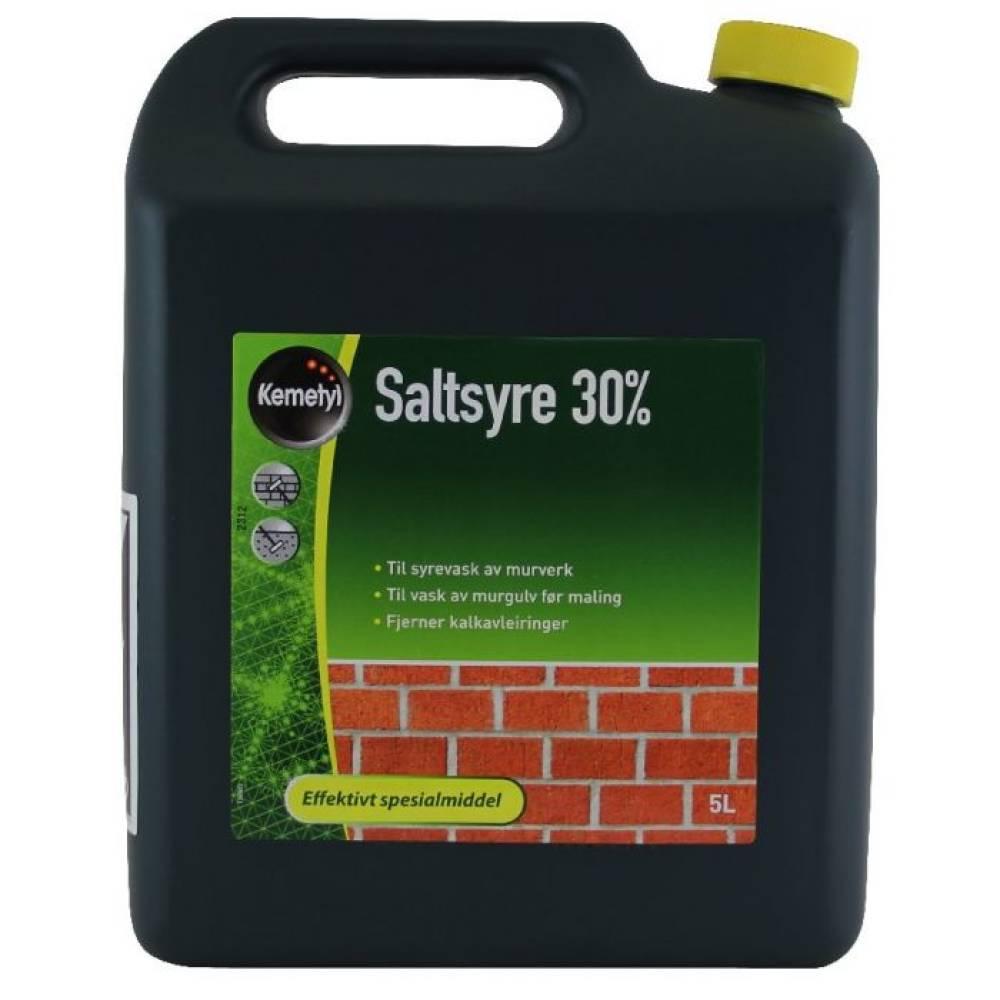 Saltsyre 30% 5 liter