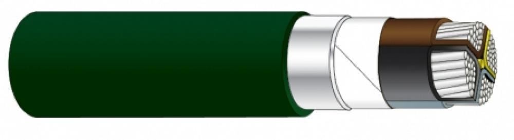 TFXP Kabel Grønn Alukabel 4 Leder
