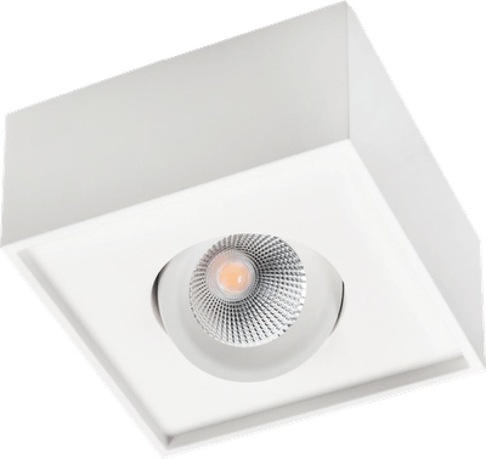 SG Cube Lux Enkel+Dobbel Sort/Hvit 2700k