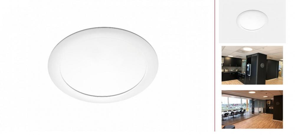 SG Sense LED Paneler Opal Prism Rund