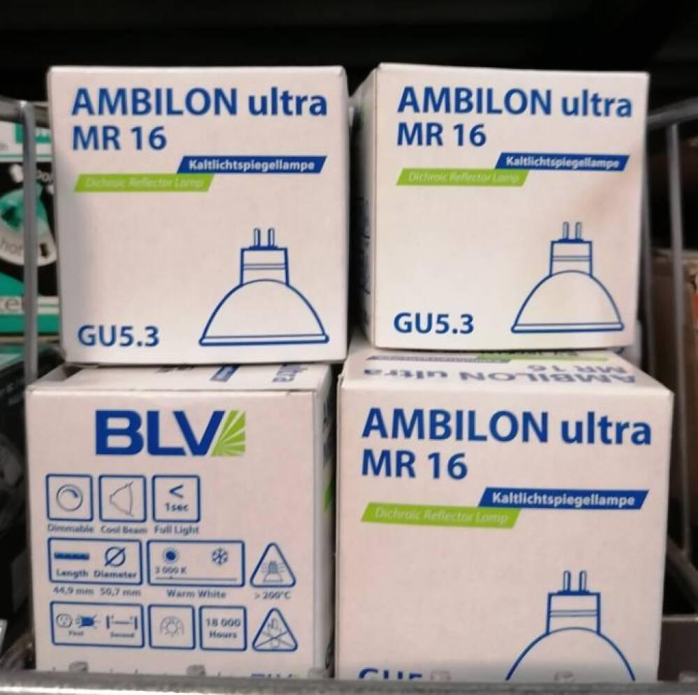BLV Halogepære 35w Extrem kvalitet