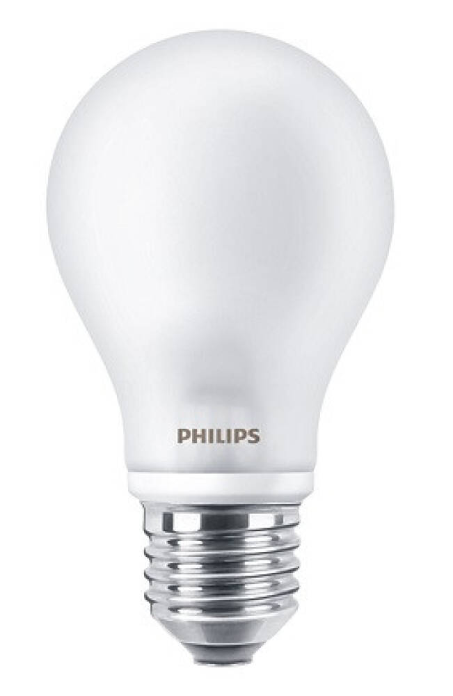 Philips 4,5w LED pære 470 Lumen matt