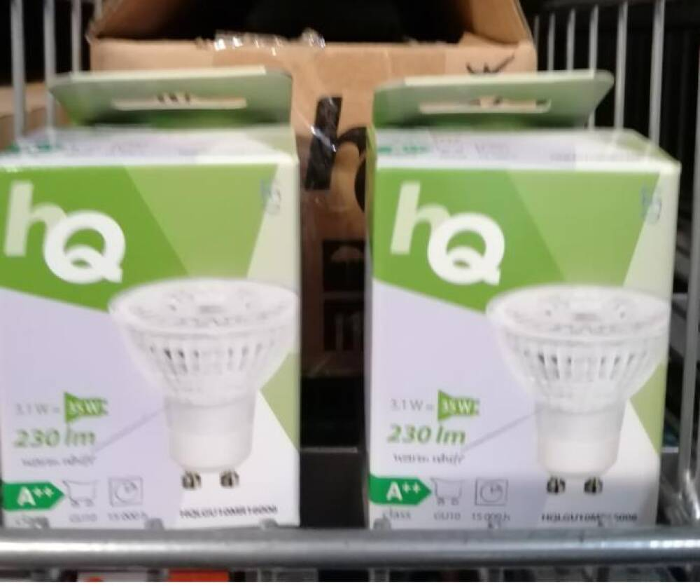 HQ LED Pære 3,1w 2700k