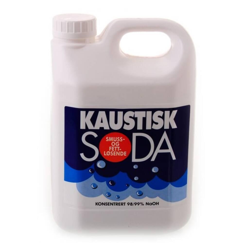 Kaustisk Soda 2.5 kilo