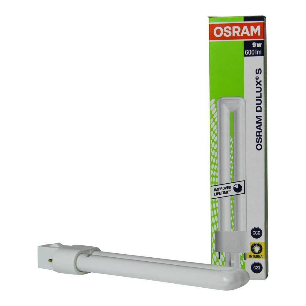 Osram Kompaktlysrør 9w 830 10pk